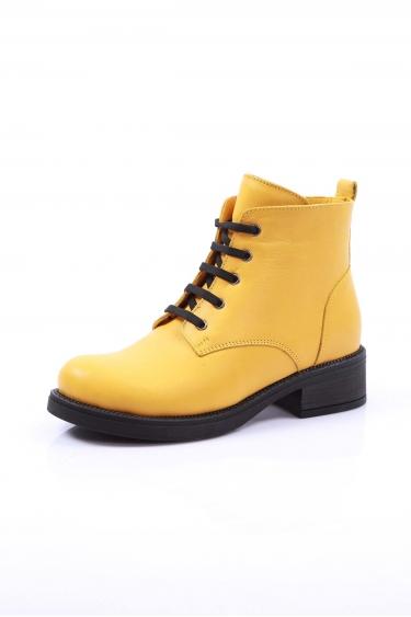 Sarı Kadın Kısa Bot 202108205