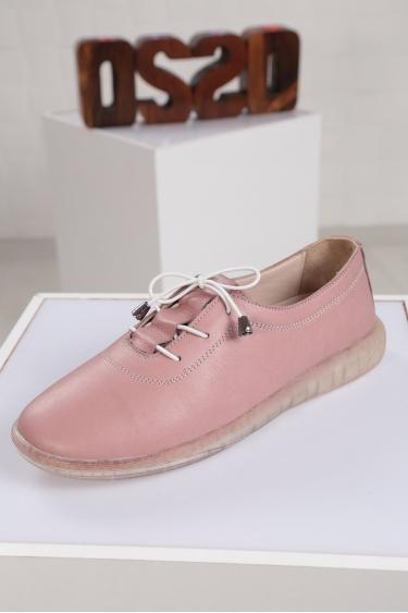 Hakiki Deri GÜL KURUSU Kadın Sneaker Ayakkabı 221108107
