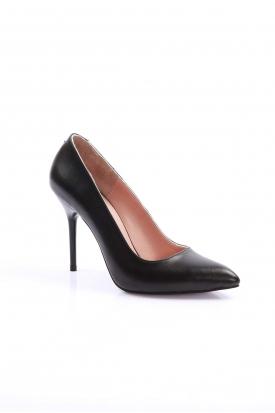 Siyah Kadın Stiletto Ayakkabı 202127101