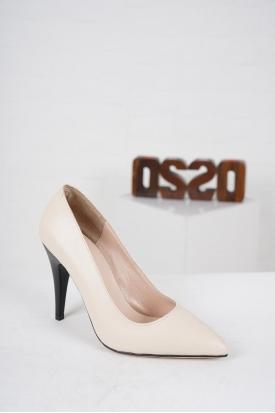 Kırmızı Süet Kadın Stiletto Ayakkabı 202127101