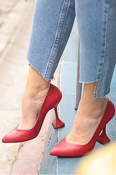 Kırmızı Kadın Stiletto Ayakkabı 202127106