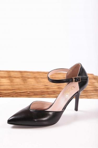 Siyah Kadın Stiletto Ayakkabı 202127111