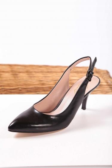 Siyah Kadın Stiletto Ayakkabı 202127113