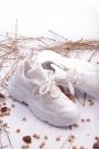 Beyaz Kadın Sneaker Ayakkabı 202201106