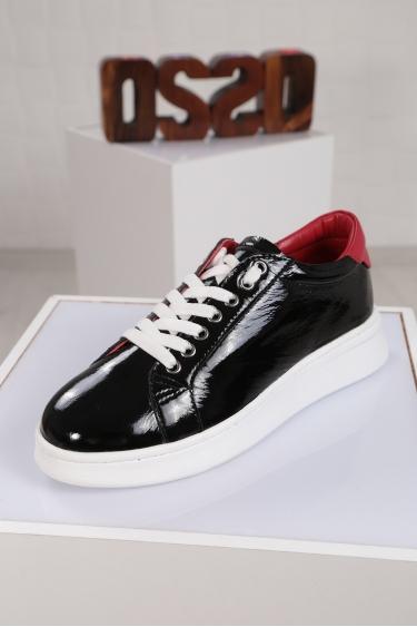 Hakiki Deri Bej Kadın Sneaker Ayakkabı 221204102