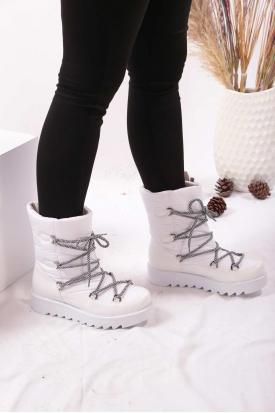 Beyaz Kadın Kar  Bot 202207202