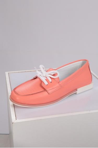 Hakiki Deri Mercan Kadın Loafer Ayakkabı 221209103