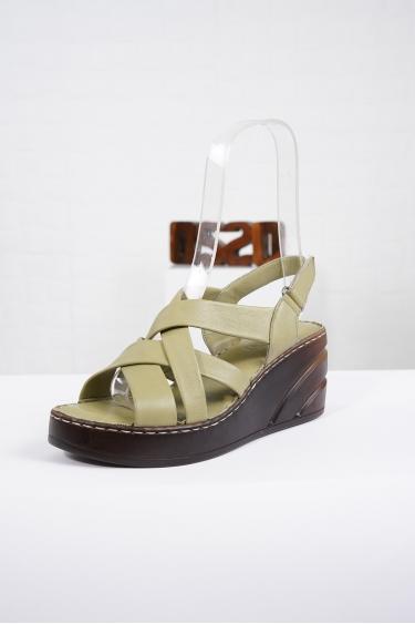 Hakiki Deri Scorpion Kadın Komfort Sandalet 221232511