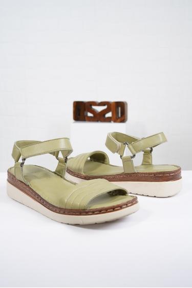 Hakiki Deri Scorpion Kadın Komfort Sandalet 221232514